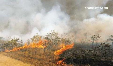 آتش زدن کاه ۰۱۱