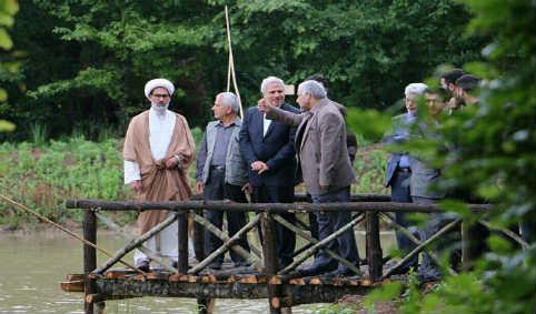 افتتاح دو فاز گردشگری در موزه میراث روستایی گیلان ۹۱