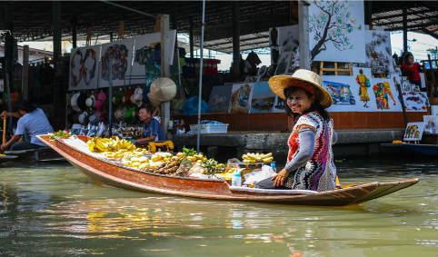 بازار شناور بانکوک ۹۱