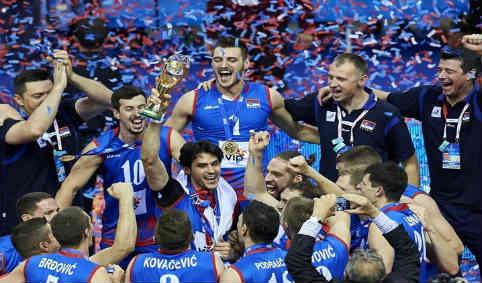 قهرمانی والیبال صربستان ۹۱