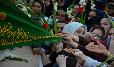 مراسم استقبال از کاروان فرهنگی خادمین امام رضا(ع) ۹۱