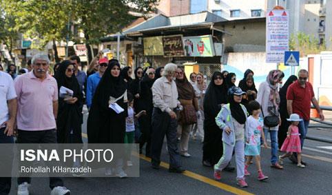 پیادهروی خبرنگاران ۰۱۱