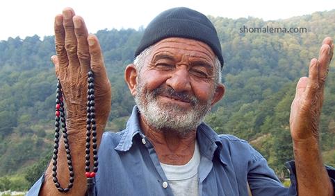 پیرمرد کشاورز ۰۱۱