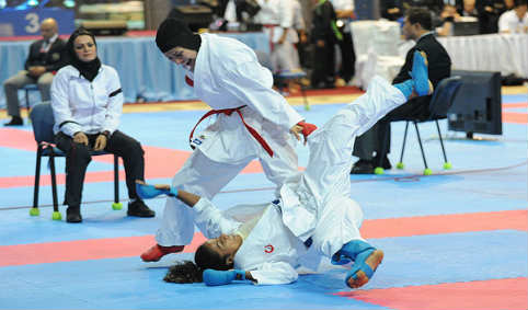 کاراته بانوان ۹۱