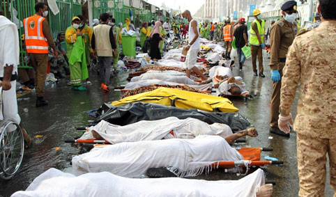 کشته شدگان منا ۰۱۲